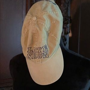 Authentic Late Show w/David Letterman Baseball cap